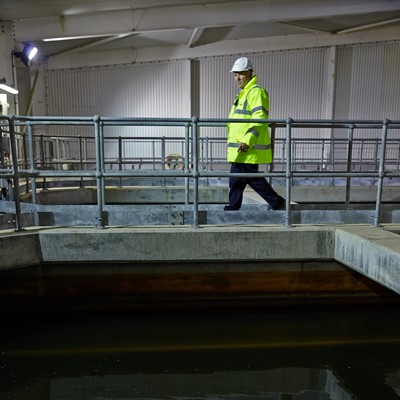 Clean & waste water treatment works