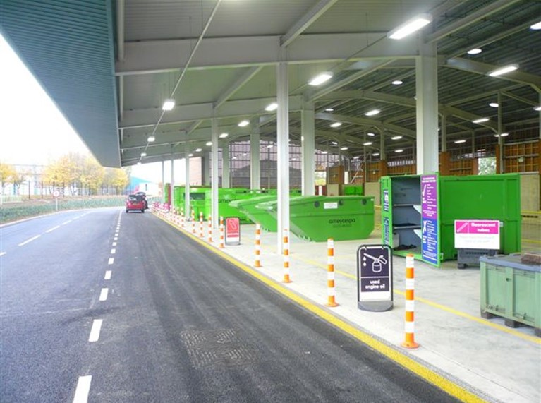 Household waste recycling centres