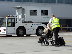 Supporting passengers with reduced mobility at UK airports