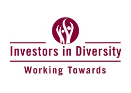 Investors in Diversity logo - Working towards
